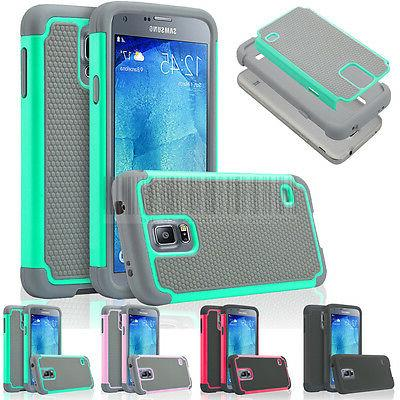 Hybrid Rugged Armor Hard Rubber Case Shockproof Cover For Sa