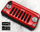 Jeep Wrangler Grill Red iPhone 8 8+ 7 7+ 6 6s 5 5s X Samsung