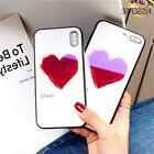 KISSCASE Tempered Glass Case For iPhone X 10, Full Coverage