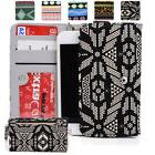 KroO ESPS-20 MD Aztec Patterned Protective Wallet Case Cover