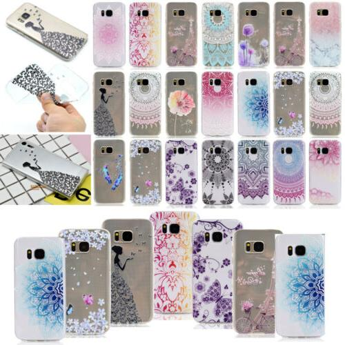 LCMM Soft TPU Case Cover For Samsung Galaxy S8 Plus S6 S7 Ed