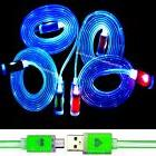 LED Micro USB Cable Charging Cord Sync Charger For Android C