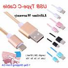 LOT 6ft USB Type C Charger Cable for Samsung Galaxy S8 S9 Ne