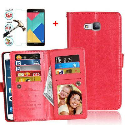 Cell Phone Case With Credit Card Holder Flip Cover Skin For