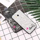 Love Girls Lace Phone Case for Samsung S8 S9 Plus A5 2017 J7