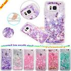 Luxury Glitter Star Liquid Back Phone Case Cover For Samsung