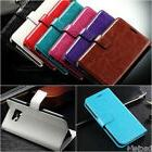 Luxury Leather Card Wallet Flip Case Cover Apple iPhone Sams