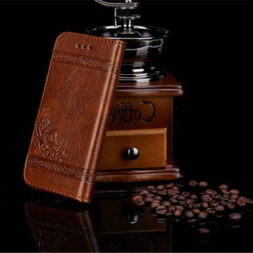 Luxury Wallet Phone Cover Stand fo 6 X