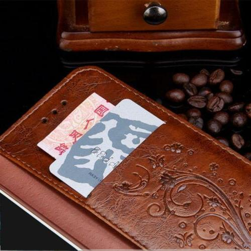 Luxury Leather Wallet Phone Stand fo 11 6 7 X