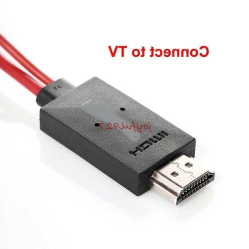 MHL to HDMI 1080P HD Adapter S5 3