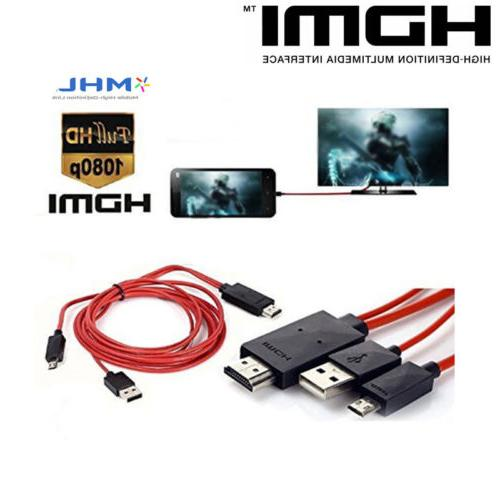 For 4 5 MHL USB HDMI TV Cord