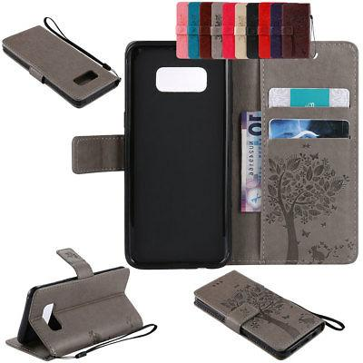 Magnetic Flip Stand Leather Wallet Classic Case For Samsung