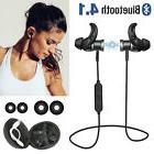 Magnetic Wireless Bluetooth Earbuds w/ Mic Bass Stereo Sport