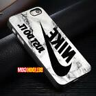 Marble White Just Do It Nike Cover iPhone 8 8+ 7 6 6s Plus X
