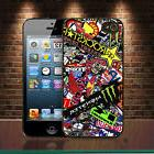 MotoCross Super Stickerbomb iPhone SE 7 4/5/6 Plus Samsung S