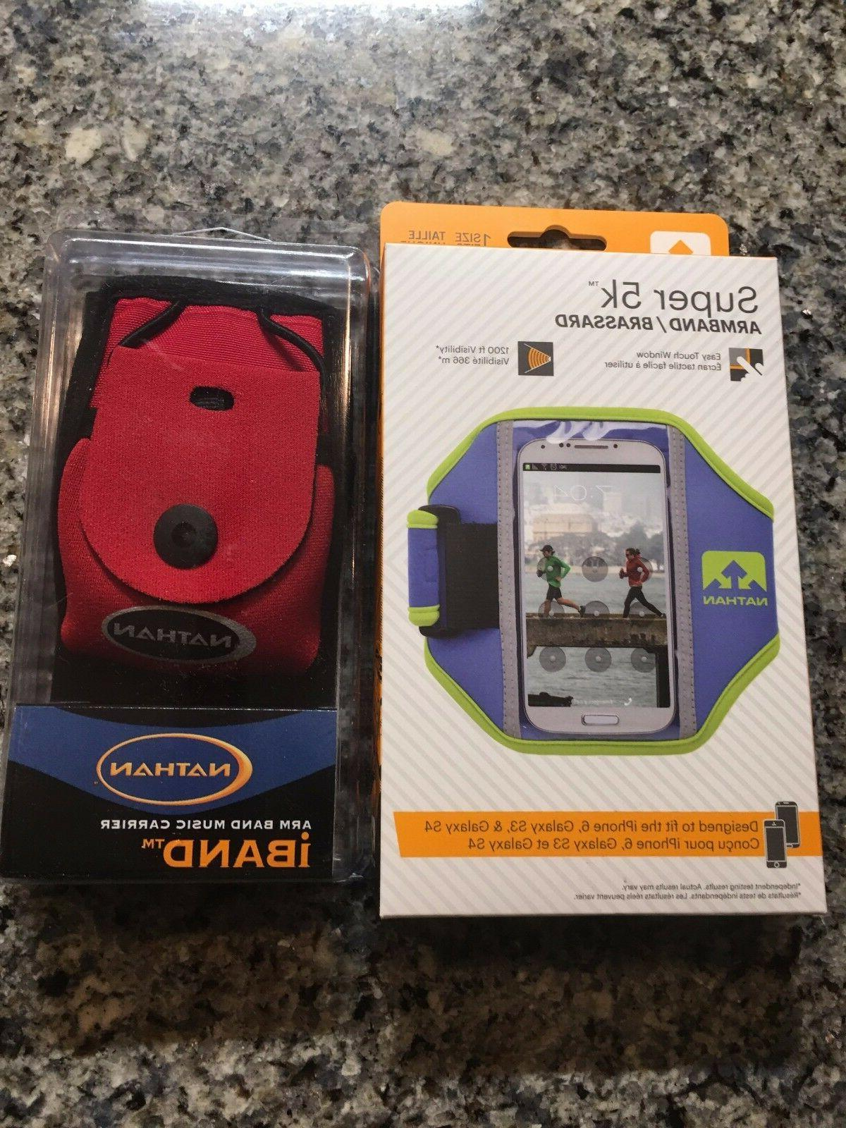 NATHAN SUPER 5K Running Armband For iPhone 4 5 6 Galaxy S3 S