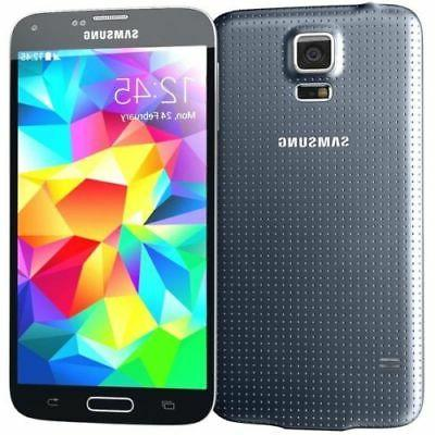 NEW Samsung Galaxy S5 SM-G900T 16GB Black T-Mobile Factory U