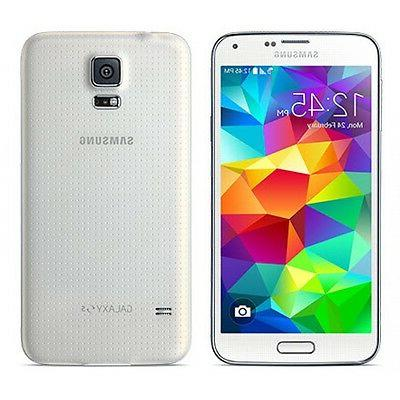 New Overstock Samsung Galaxy S5 White Verizon SM-G900V 16GB