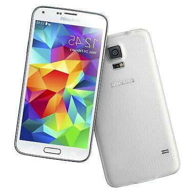 NEW Samsung Galaxy S5 SM-G900V White Verizon Smartphone GSM