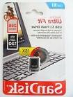 New SanDisk 256GB USB 3.1 SDCZ430 Ultra Fit 130MB/s SDCZ430-