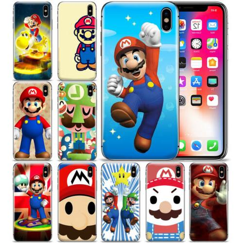 New Super Mario Brother Pattern Phone Case Cover For iPhone