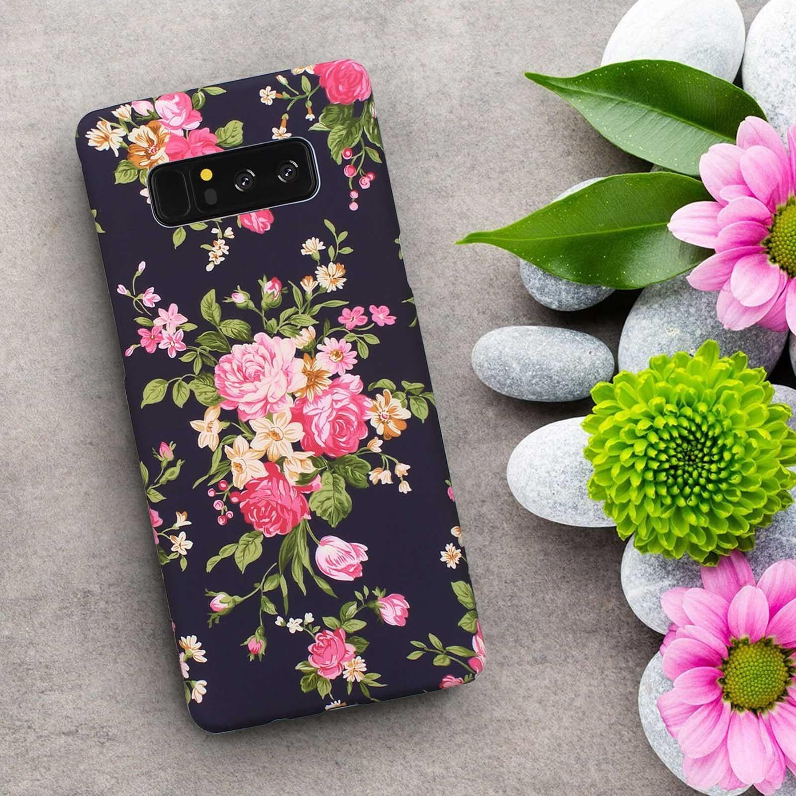 New Unique Girl Women Flower Case Cover for Samsung Galaxy S