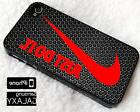 Nike Just Do It Red Cover iPhone 6 6s 6+ 6s+ 7 7+ 8 8+ X SE