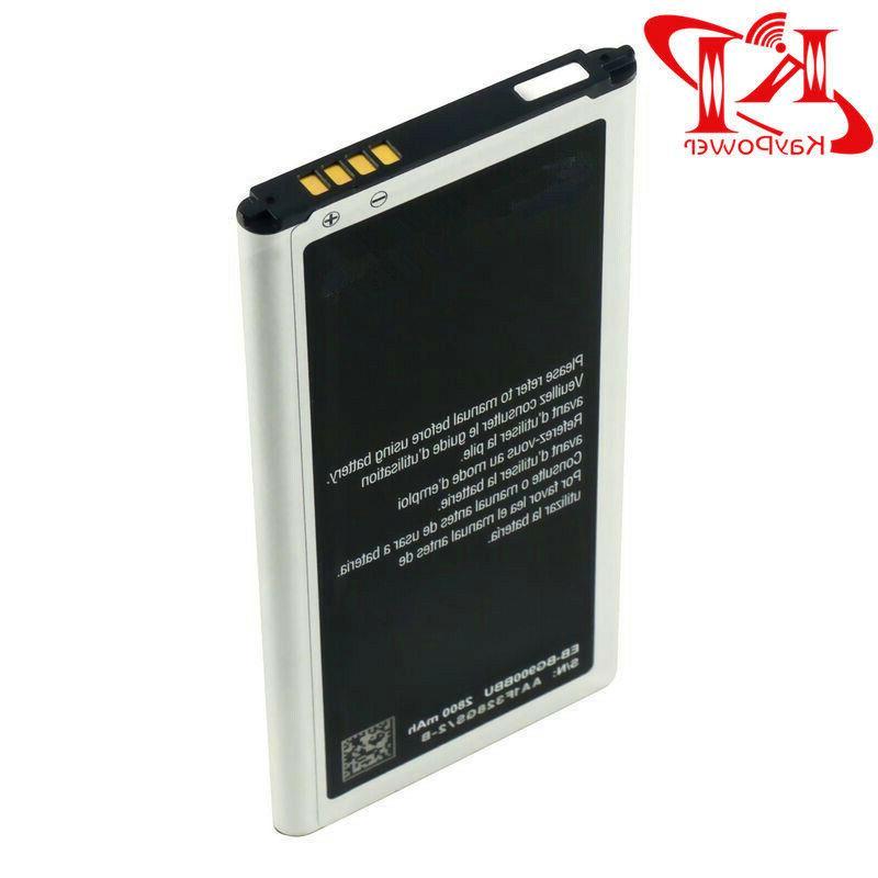 New Battery For Samsung Galaxy S5 OEM G900 2800mAh