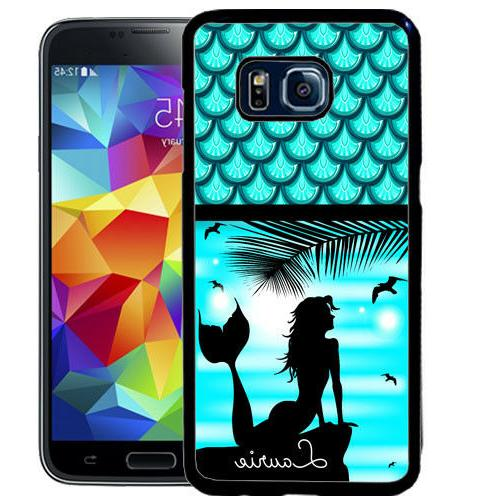 PERSONALIZED RUBBER CASE FOR SAMSUNG S9 S8 S7 S7 S6 S5 PLUS