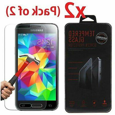 Premium 9H Tempered Glass Film Screen Protector for Samsung
