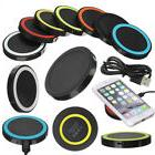 Q5 QI Wireless Charging Charger Power Pad For Iphone X 8 Plu
