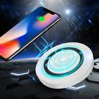 Qi Wireless Charger Charging Pad for iPhone X/8/Plus Galaxy