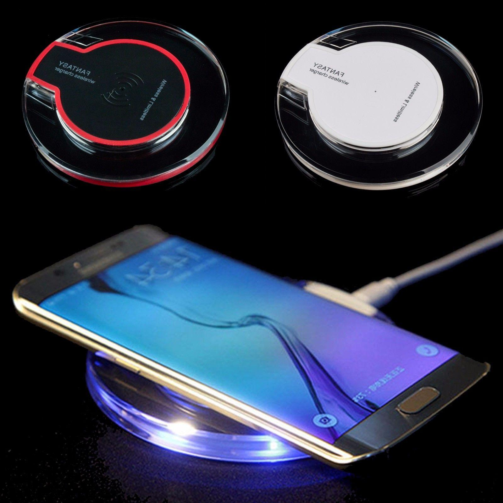 Qi Wireless Charging Pad for Samsung Galaxy S8 + S9 S7 Activ