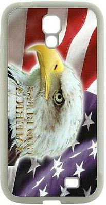 Rikki Knight American Flag Eagle Design Case for Samsung Gal