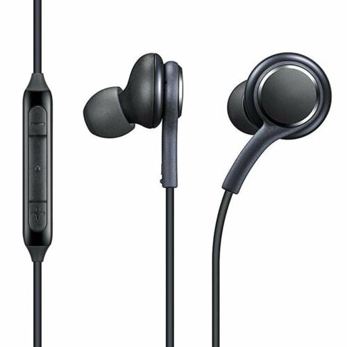 SAMSUNG GALAXY S8 S8 PLUS HEADPHONES NEW HANDS FREE IN-EAR E
