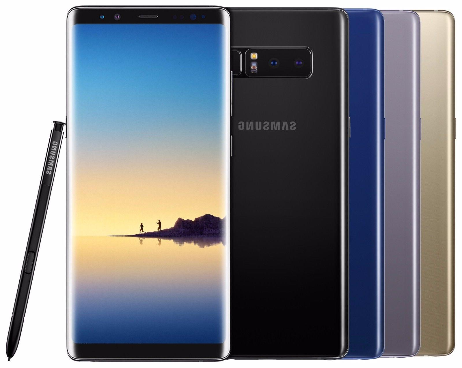Samsung Galaxy Note 8 SM-N950F/DS 64GB  Black Gold Gray Pink