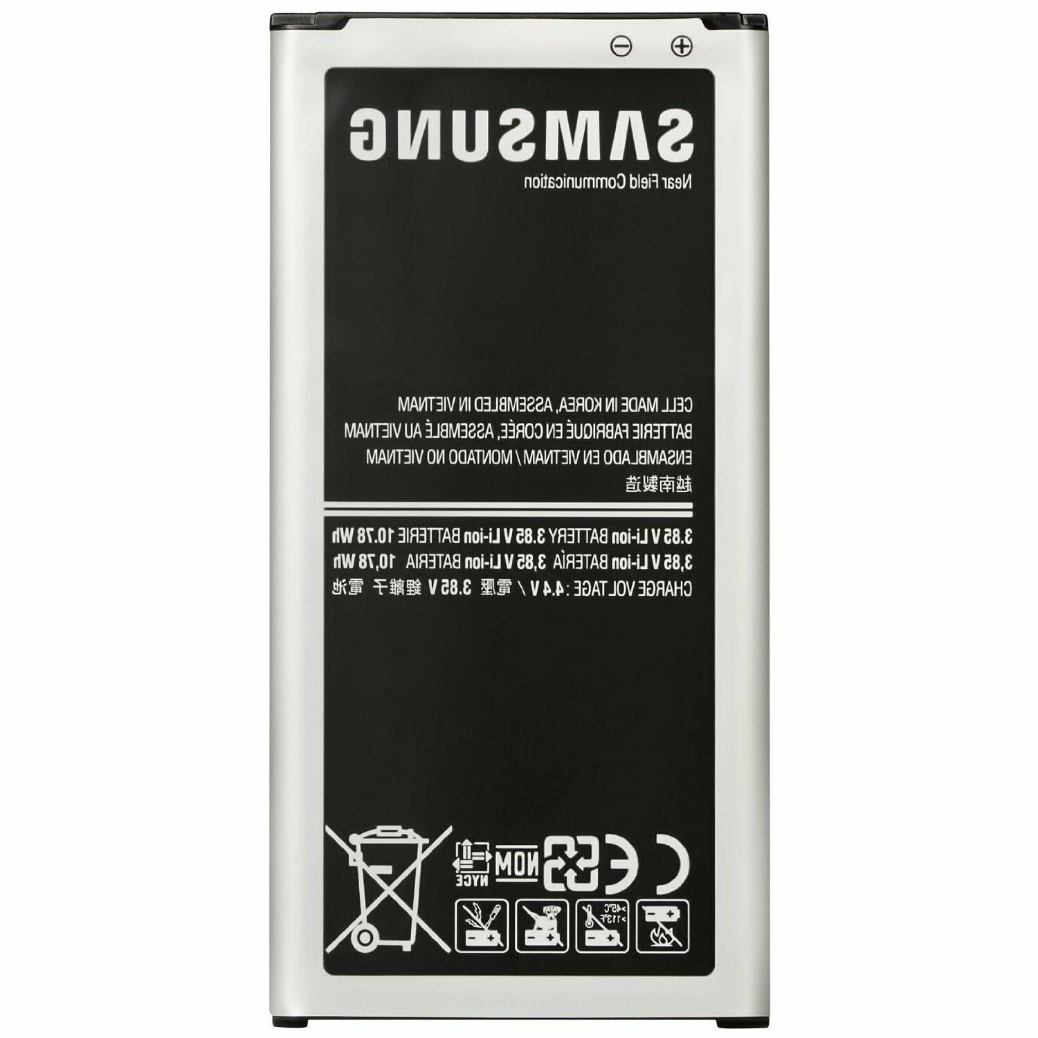 Samsung Galaxy S5 Cell Phone Battery EB-BG900BBU, 2800mAh, 3