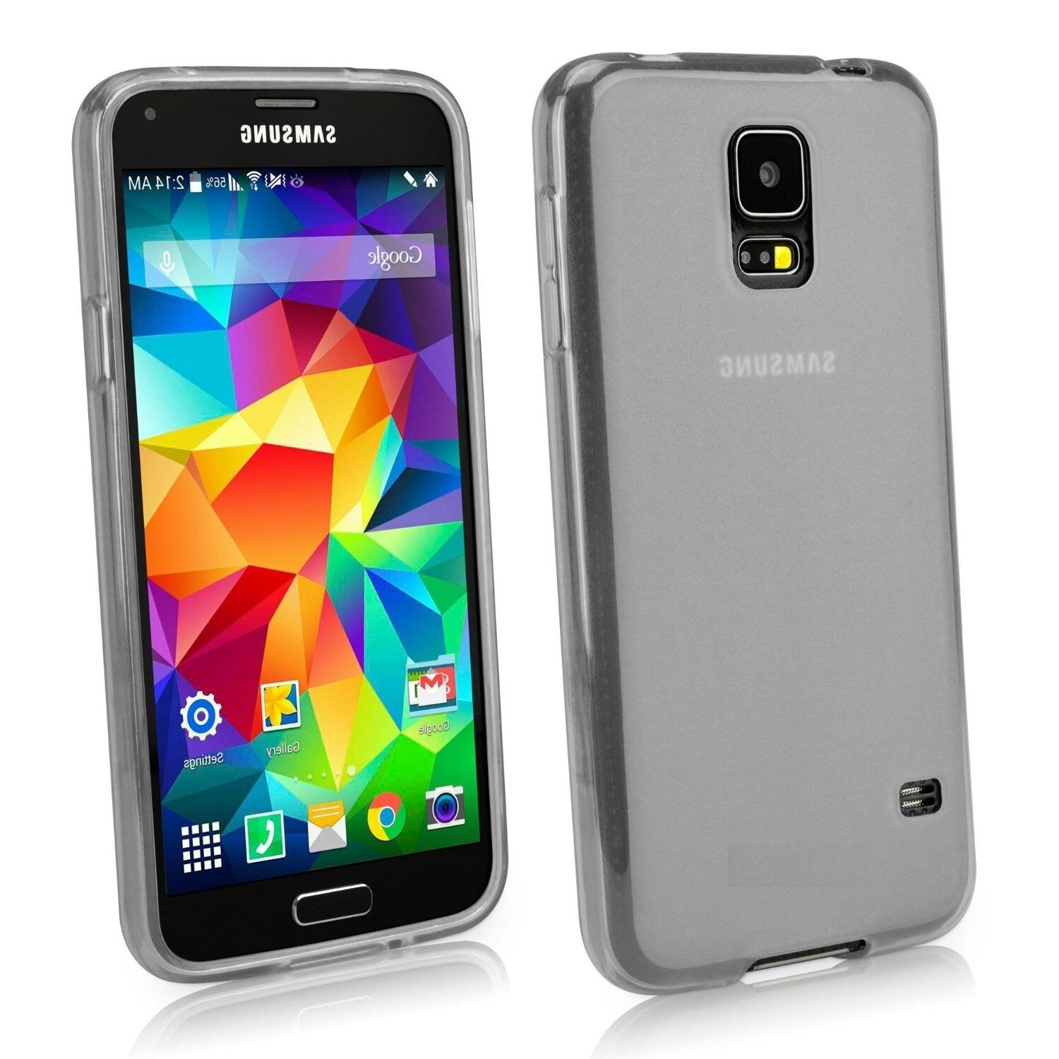 Samsung Galaxy s5 Froasted Design High Quality  soft  Case c