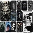 Skull Ghost Phone Case Cover For iPhone X 5/6s/7/8 Plus&Sams