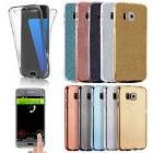 US 360° full Coverage Bling Glitter Full Cover Clear Silico