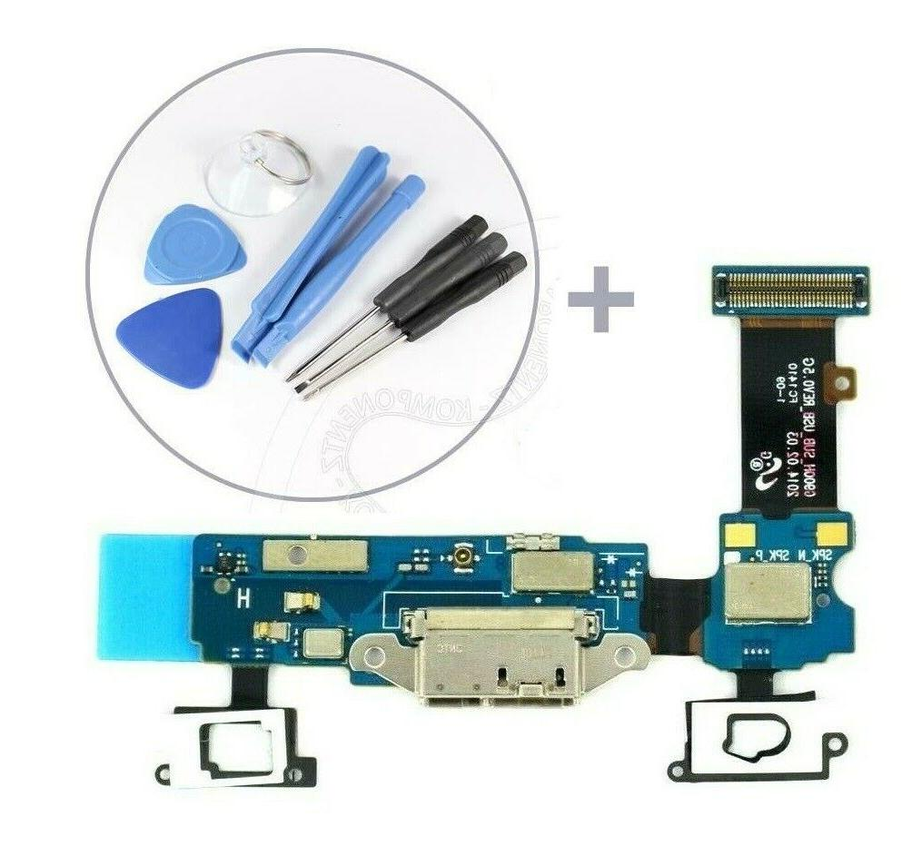 USB Charging Port Mic Flex Cable for Samsung Galaxy S5 SM-G9