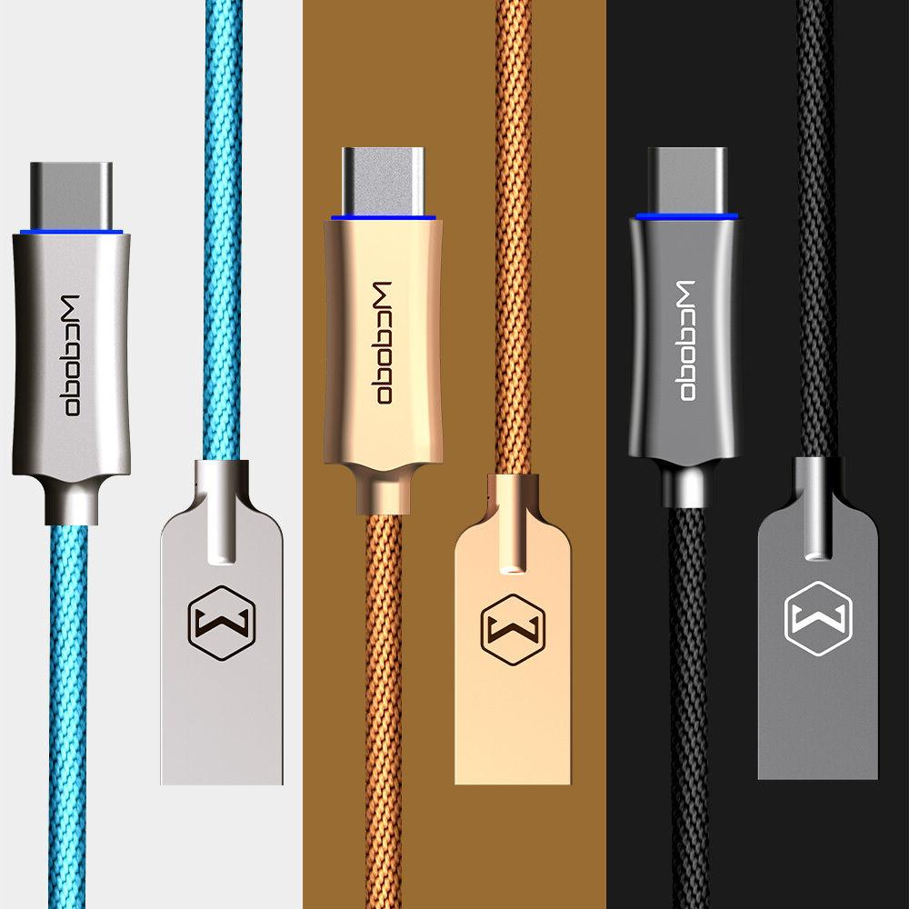 USB Type C Mcdodo Smart LED Auto Disconnect Quick Charge Dat