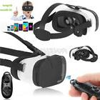Virtual Reality VR Headset 3D Glasses With Remote for Androi