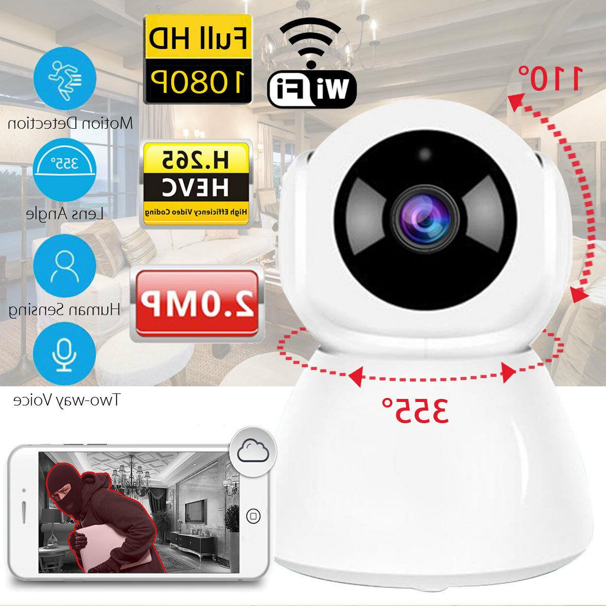 Wireless Security Camera System 1080P Smart HD Home WiFi IP