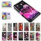 Men Women Wallet PU Leather Case Cell Phone Flip Cover Stand