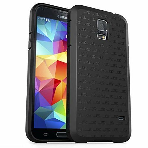 ZeroLemon Skin Armor Case for Galaxy S5 (Fits All mobile Ver
