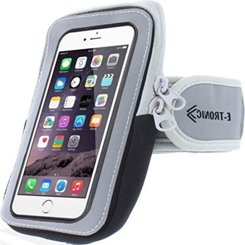 Sports Armband: Holder Arm Band Strap With Pouch/ Mobile Exercise Running For Apple 6S Plus Android S6 S7 Note 5 Edge Pixel