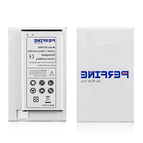 PERFINE Battery Samsung Galaxy Battery Extended Battery NFC I9600, G900F, ,G900T G900A G900P , Google Capable