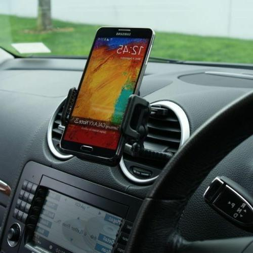 Car Air Vent Mount Holder Cradle Kit For Galaxy S7 S8 S8+ S9