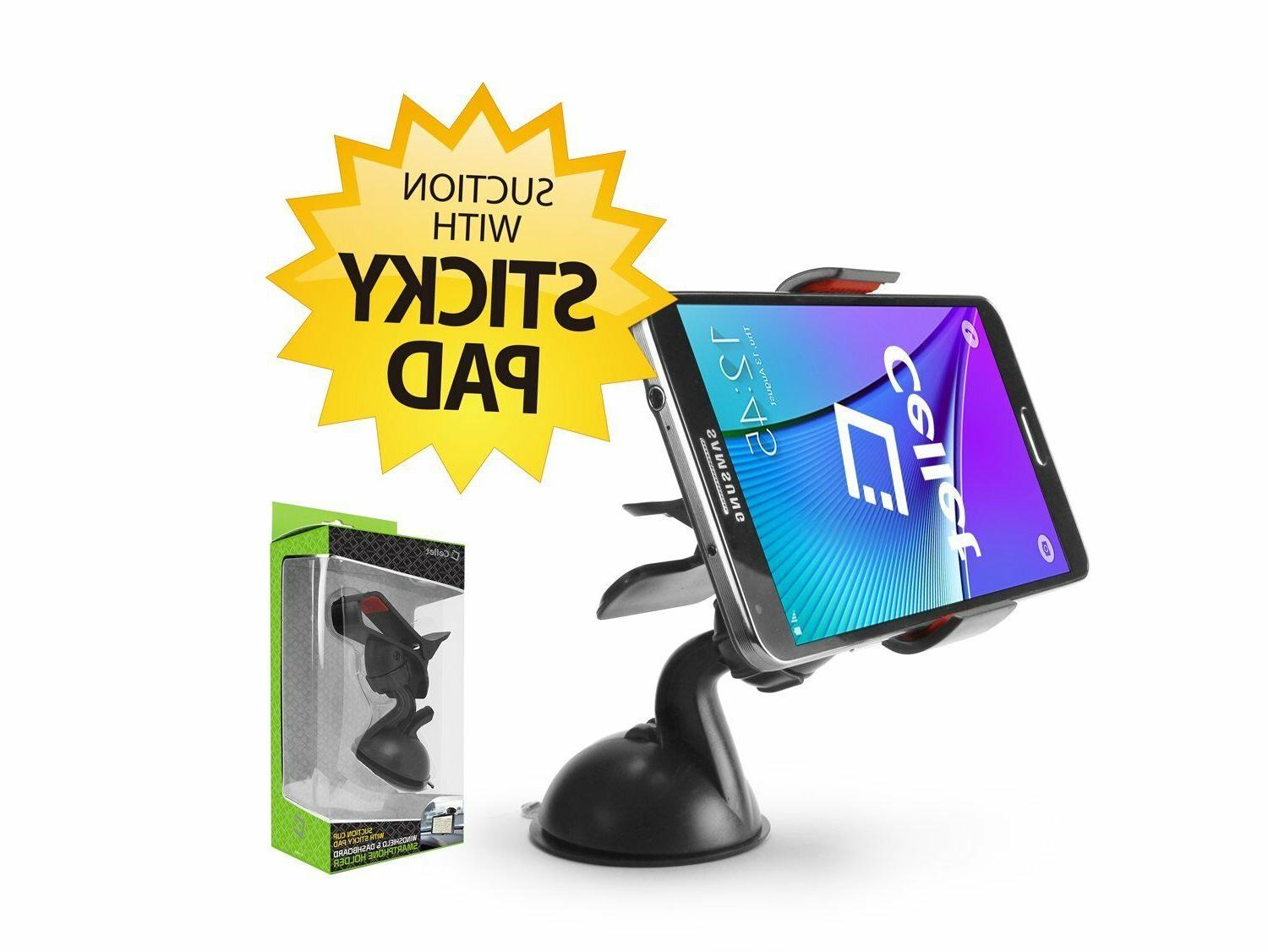 Cell Phone Windshield Dashboard Car Mount Holder for Apple i